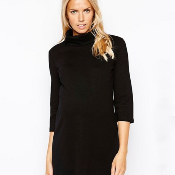 580021a8a18a1 Isabella Oliver Dresses & Skirts - Isabella Oliver | Swing Turtleneck Maternity  Dress